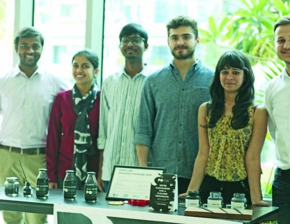 A 'Chakr' that recycles pollution into Inks & Paints